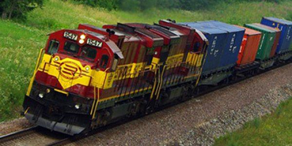 Контейнерный поезд ZUBR
